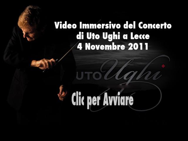 Video Immersivo del concerto di Uto Ughi