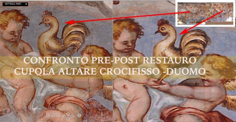 Restauro Cupola Altare del Crocifisso – Cattedrale di Lecce