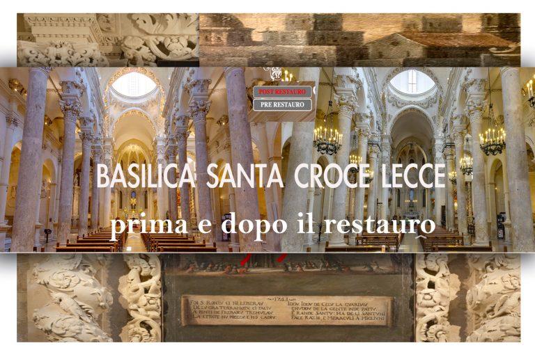 Santa Croce PRIMA e DOPO il Restauro